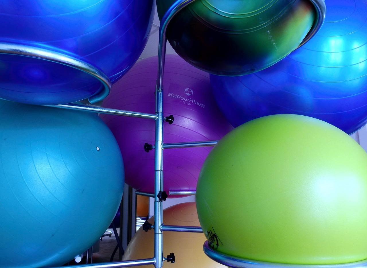 piłki do rehabilitacji